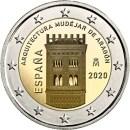 Spanien 2 Euro 2020 Mudéjar de Aragón