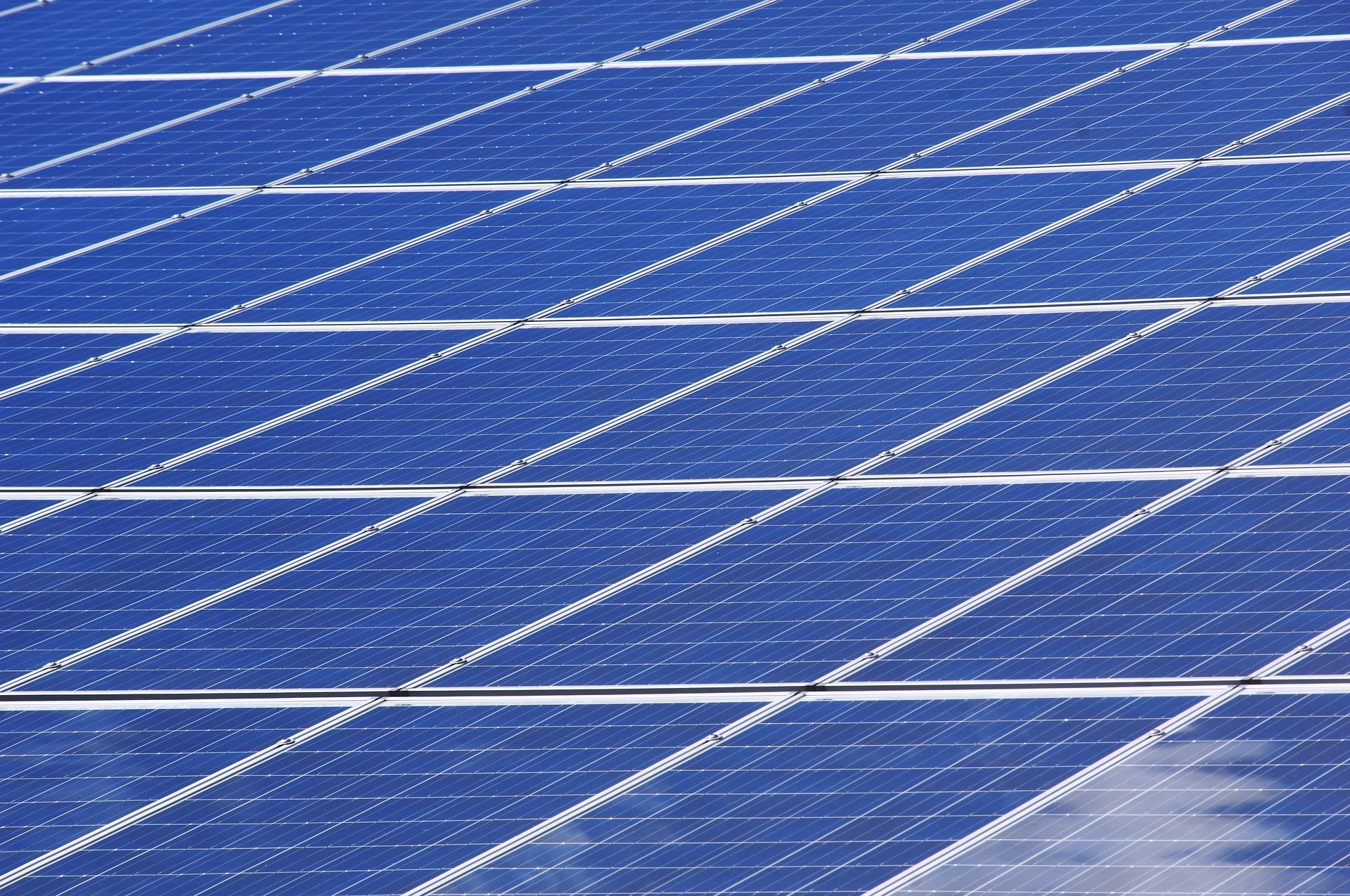 Förderung der Solaranlagen