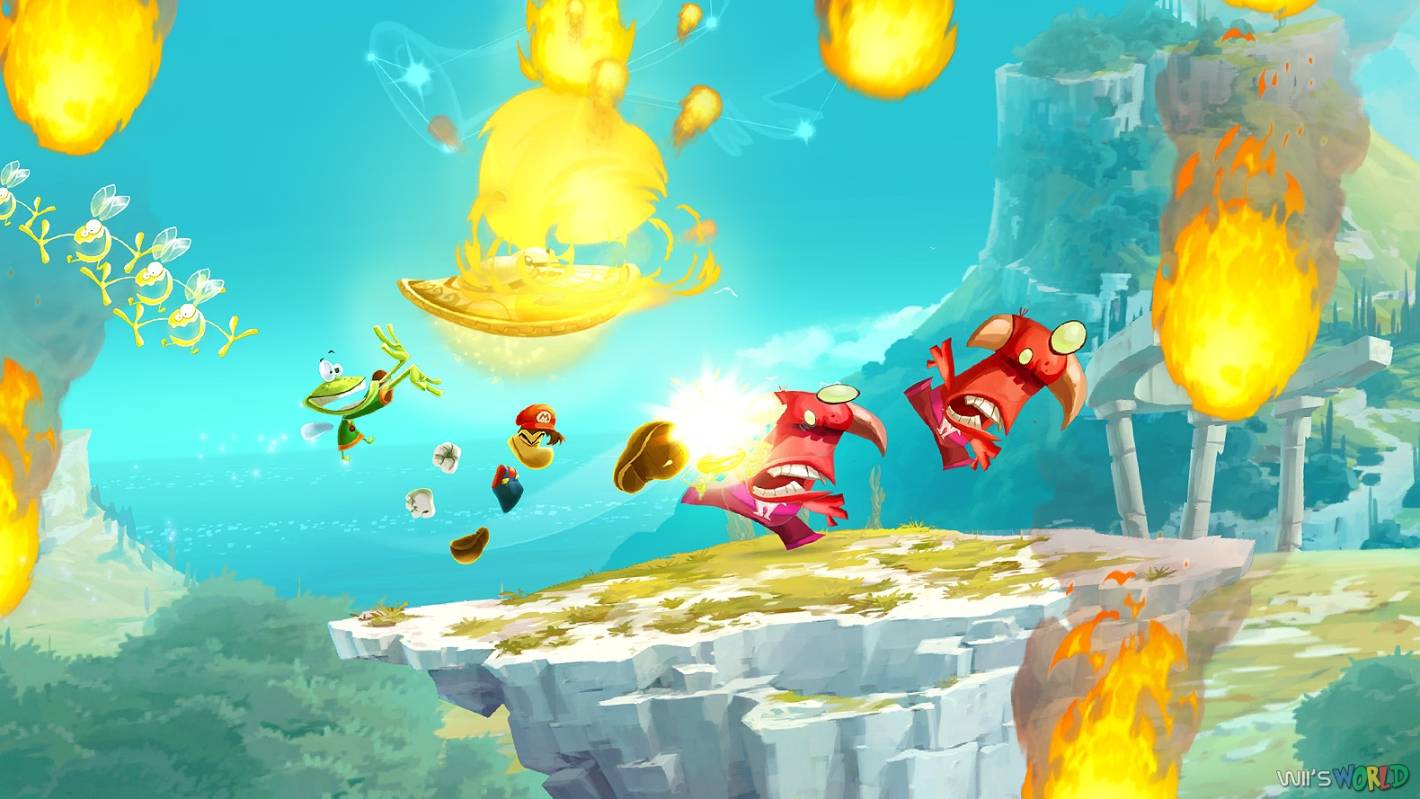 Rayman Legends On Wii U