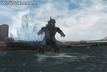 Godzilla Unleashed on Wii