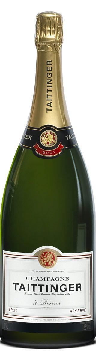 Champagne Taittinger Brut Réserve Magnum
