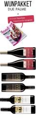 Wijn pakket Due Palme met Foodies2