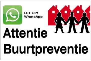 Whatsapp Buurtpreventie De Wijher