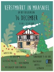 Maasniel bruist op zondag 16 december!