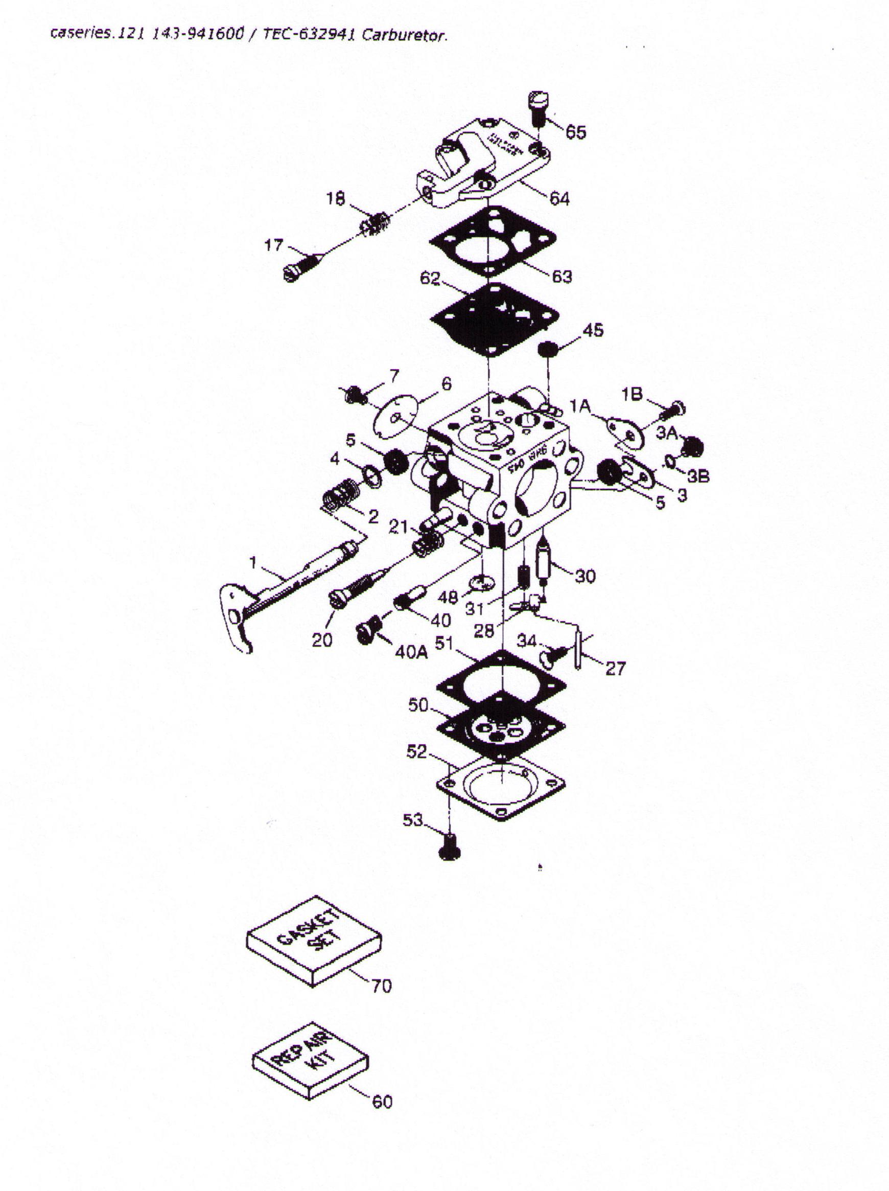 [WRG-2262] Tecumseh Engine Parts Diagram