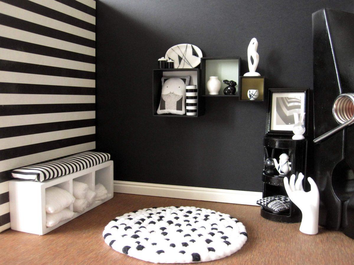 Zwart wit interieur gezellig maken  Tips  Inspiratie