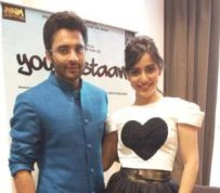 Neha Sharma with her ex-boyfriend Jackky