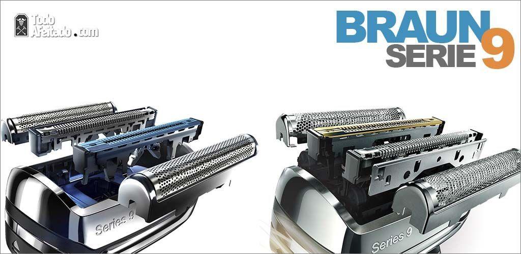 cabezales maquinas de afeitar braun serie 9