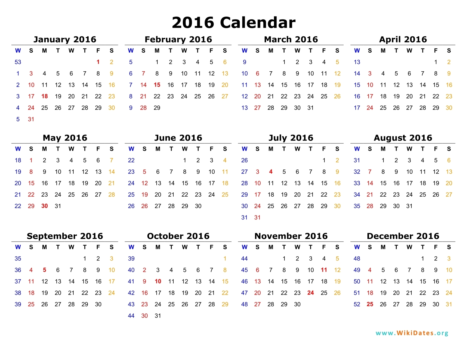 Full Size Monthly Calendar Printables Are Here Love These Printable Calendars