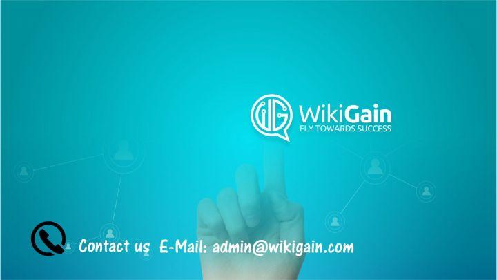 Contact wikigain.comContact wikigain.com