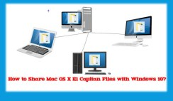 Share Mac OS X El Capitan Files