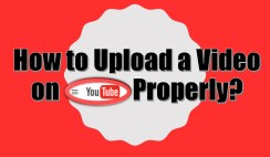 Upload a Video on YouTube