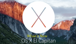 What's New on Mac OS X El Capitan 10.11.2