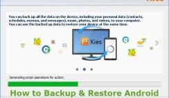 Backup and Restore Samsung Phone Data