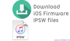 How to Download iOS firmware IPSW files