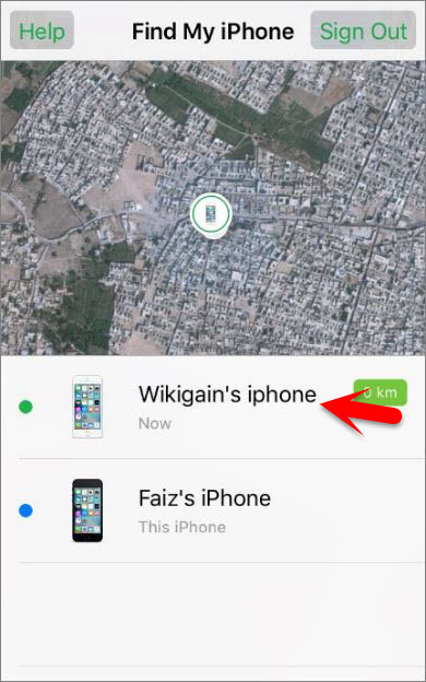 how to find other devices on find my iphone