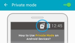 How to Use Private Mode on Android Devices