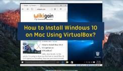 How to Install Windows 10 on Mac Using VirtualBox - Create new Virtual Machine