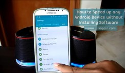 Speed up Android Devices without Installing Apps