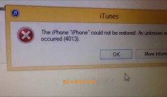 How to Solve iOS Update or Restore Error of iOS Devices?