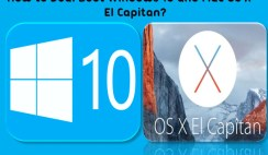 How to Dual Boot Windows 10 and Mac OS X El Capitan