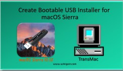 How to Create Bootable USB Installer for macOS Sierra Via TransMac