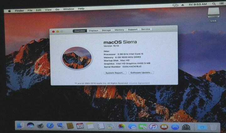 macOS Sierra 10.12 installed on PC - macOS Sierra PC