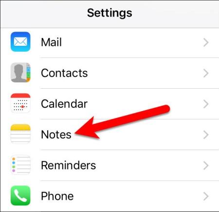How to Reset Forgotten Notes App Password on iOS 10?