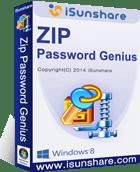 How to reset zip file password