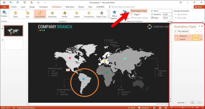 How to create Zoom effect animation in PowerPoint?