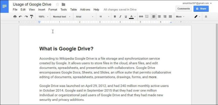 Complete Step by Step Guide to Use Google Drive Online Storage
