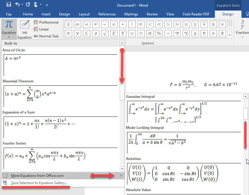 how to write mathematical equations in ms word 2016  wikigain