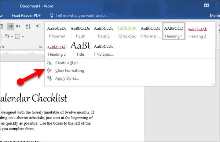 Change Default Font Settings in Microsoft Word 2016