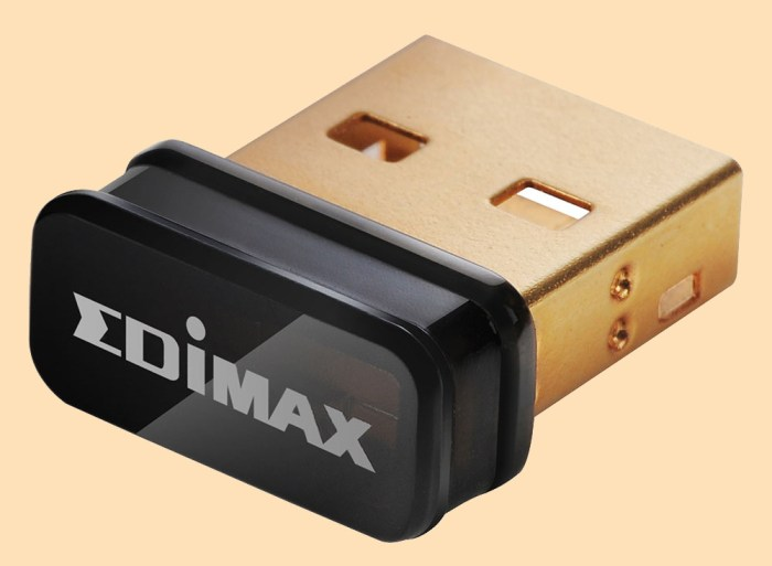 Enable Network Adapter with Edimax