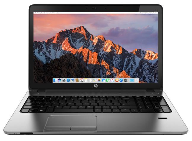 Install macOS Sierra on HP ProBook 450 G1