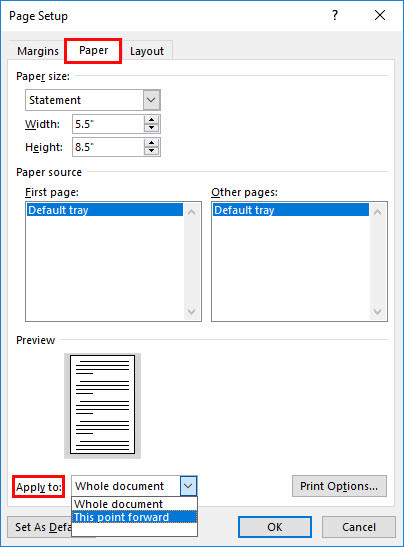 Set Page Margins And Change Page Orientation In Microsoft
