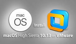 How to Install macOS High Sierra 10.13 on VMware on Windows