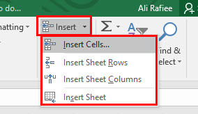 How to Insert-Delete-Format Cells in Microsoft Excel 2016