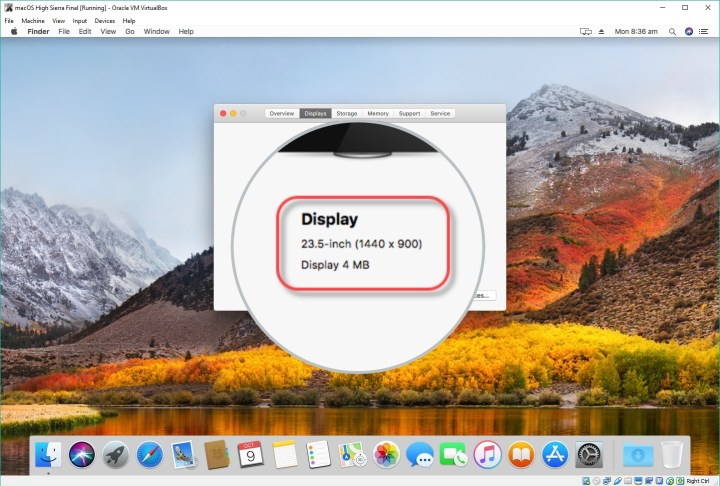 How to Fix macOS High Sierra Screen Resolution on VirtualBox