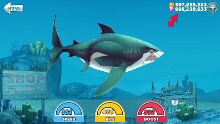 hungry shark hack ios