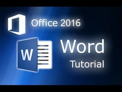 Essential Package Training of Microsoft Word 2016