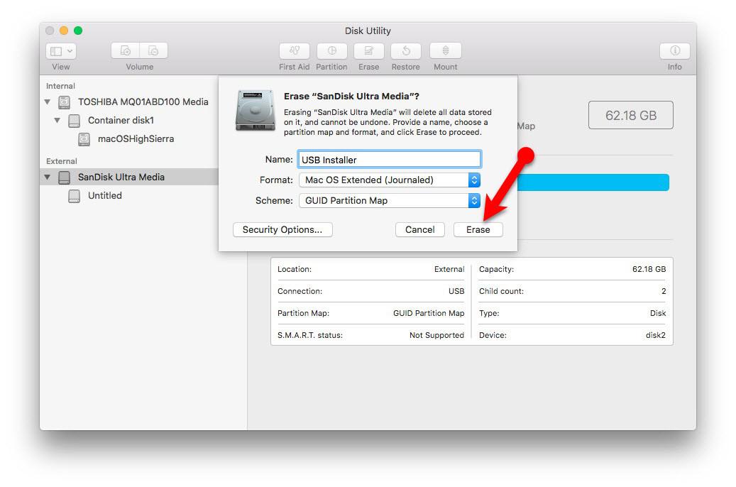 Usb bootable mac windows
