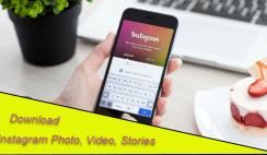 Download Instagram Photo, Video
