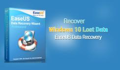 How to Recover Windows 10 Lost Data Via EaseUS Data Recovery Wizard
