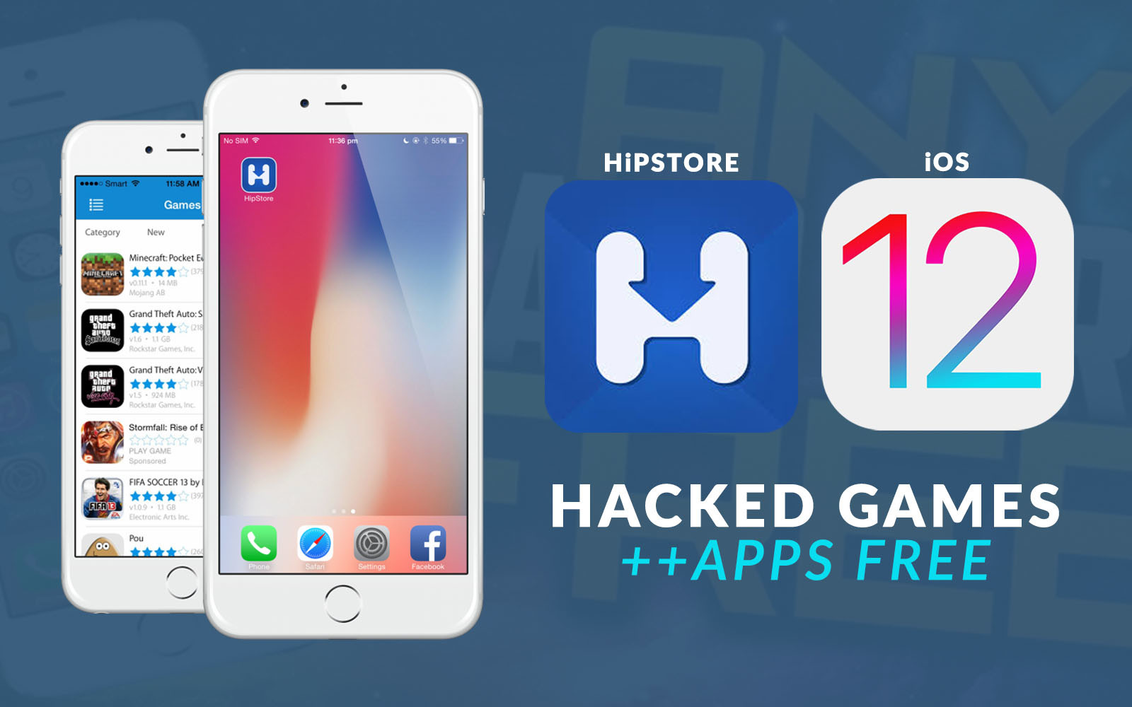 New Hipstore Update For Ios 12 Hacked Games Apps
