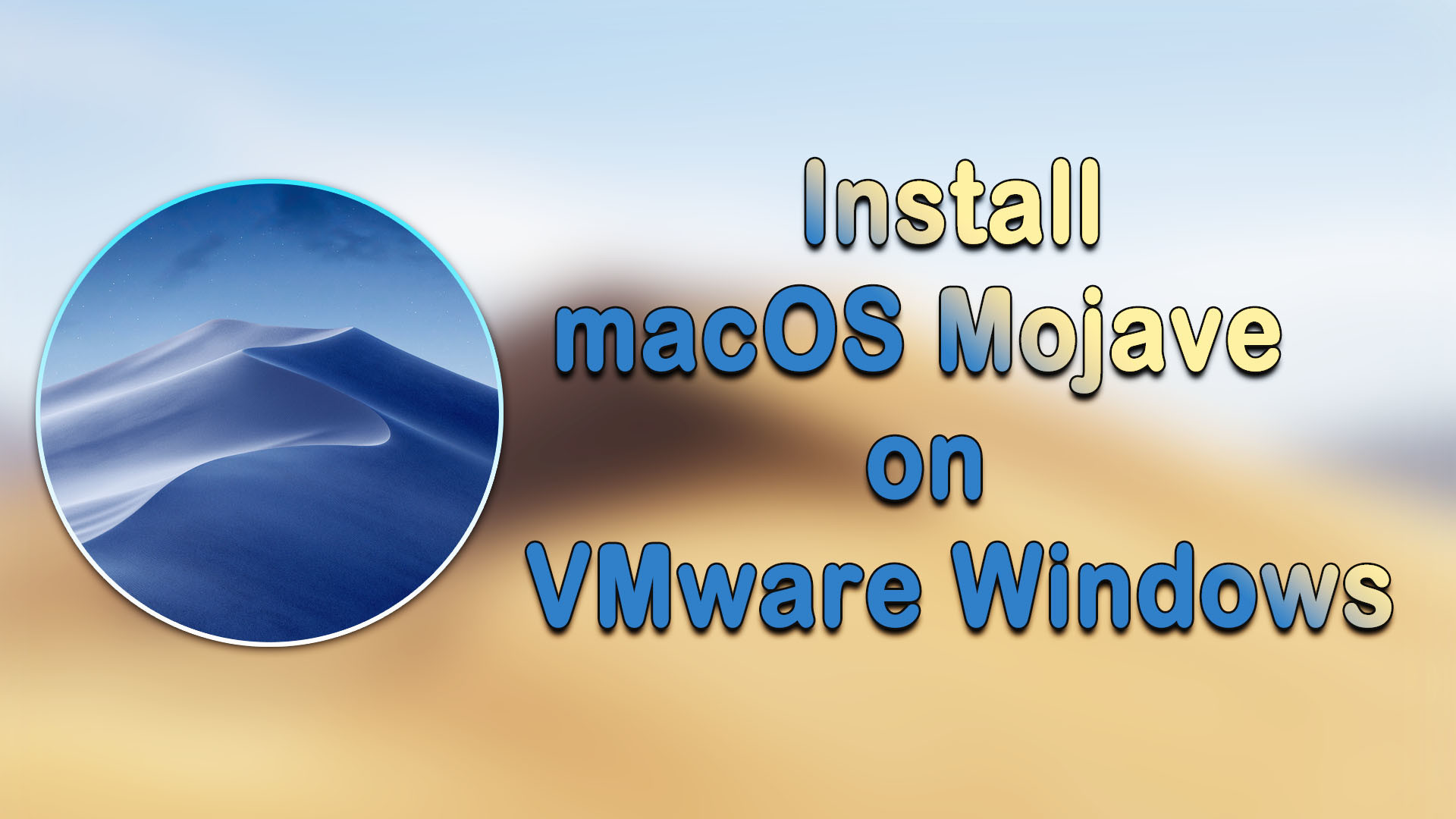 mac os vmware 10.14