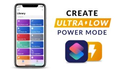 Create Ultra-Low Power Mode Using Siri Shortcut App (iOS 12)