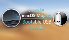 How to Create macOS Mojave Bootable USB Installer UniBeast