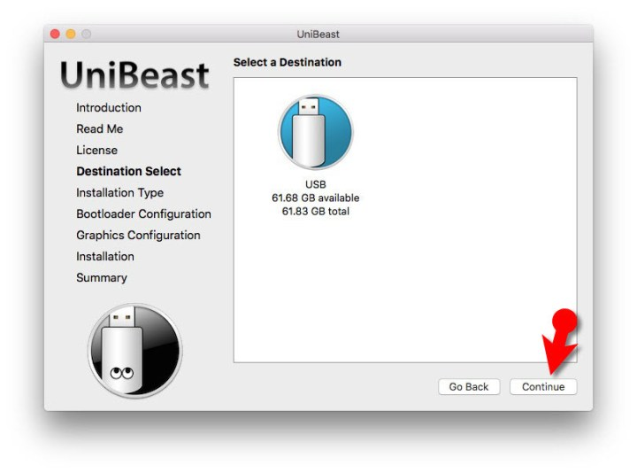 Create macOS Mojave Bootable USB Installer UniBeast