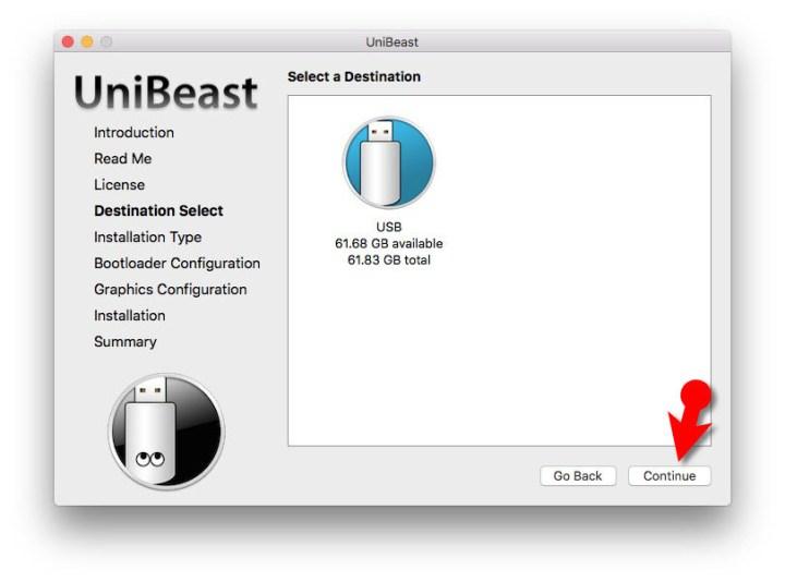 Create macOS Mojave Bootable USB Installer UniBeast
